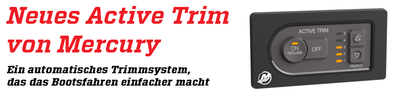 RoJe Boote Bodensee Mercury Active Trimmsystem